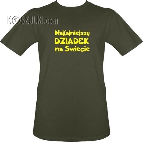 t-shirt Najfajniejszy Dziadek na Świecie