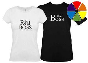 Koszulki dla pary-Zestaw the Boss