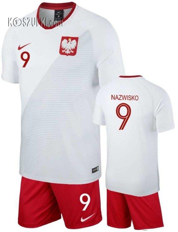 8923331b164e Strój Reprezentacji Polski Nike oryginalny MŚ 2018 mundial