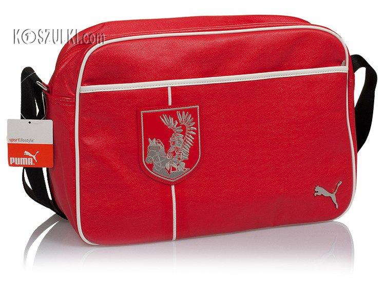 f2cf2de994386 Torba PUMA husaria na ramię Polska czerwona Czerwony   Sportowe ...
