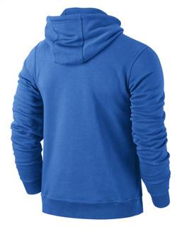 Bluza Nike Team Club Hoody niebieska 6658498 463
