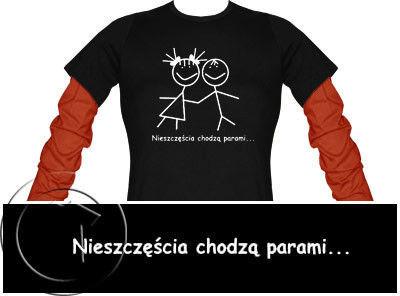 Bluza damska przedłużony rękaw- NIESZCZĘŚCIA