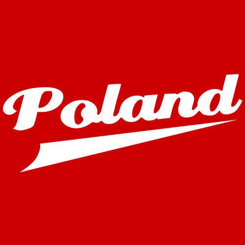 Bluza z kapturem POLAND- CZERWONA
