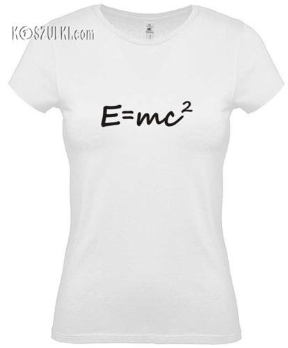 Koszulka damska E=mc2
