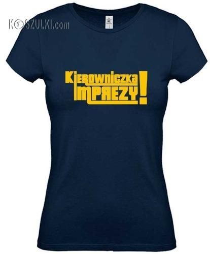Koszulka damska Kierowniczka Imprezy