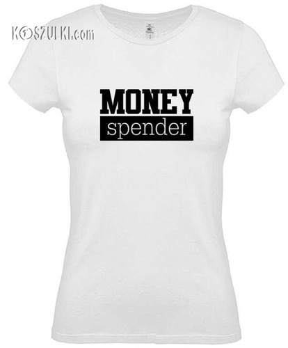 Koszulka damska Money spender