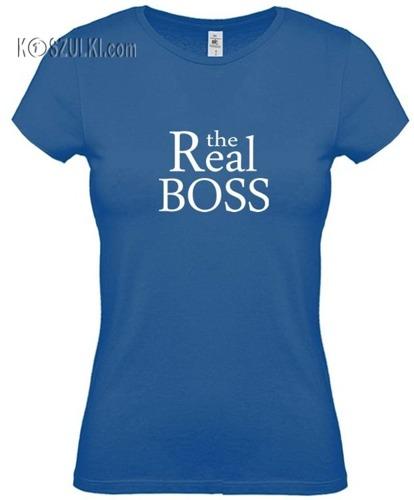 Koszulka damska the Real Boss