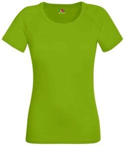 Koszulka damska treningowa- Fit Performance ZIELONA