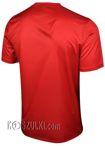 Oryginalna Koszulka Reprezentacj Polski Nike Euro 2016  Away Supporters Tee Czerwona
