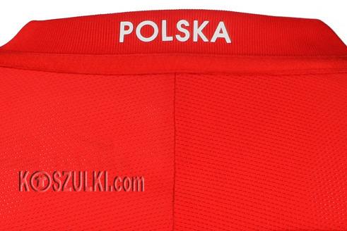 Oryginalna Koszulka Reprezentacji Polski Nike Euro2016 Away Stadium Czerwona