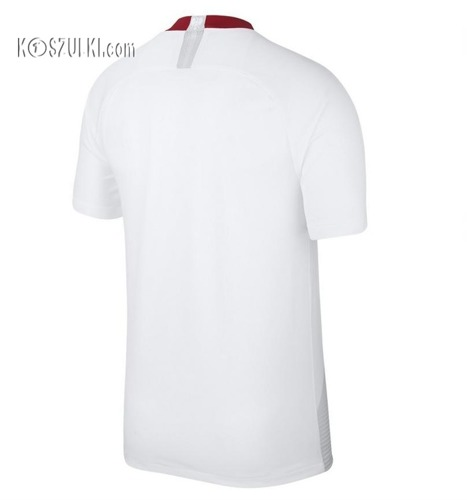 Oryginalna Koszulka Reprezentacji Polski Nike Mś 2018 Home Breathe Stadium Biała