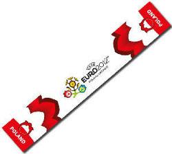 Oryginalny z licencją szalik Euro 2012 Polska