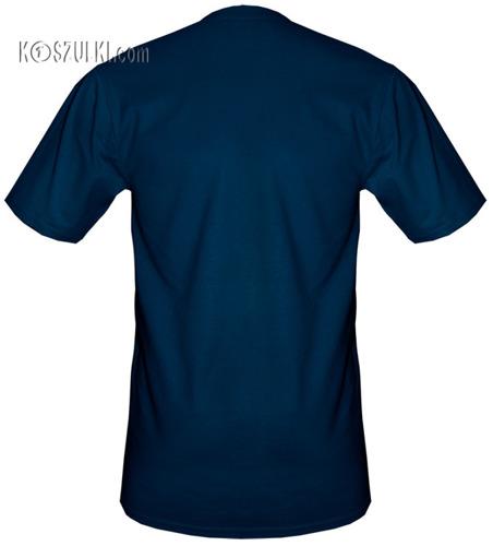 Koszulki Granatowe bez nadruku pakiet promocyjny 12szt