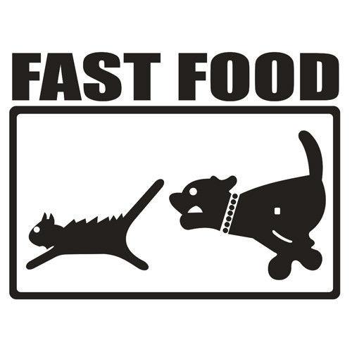 T-shirt Baseball Fast Food