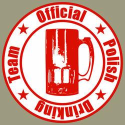 T-shirt Baseball Polish Drinking Team