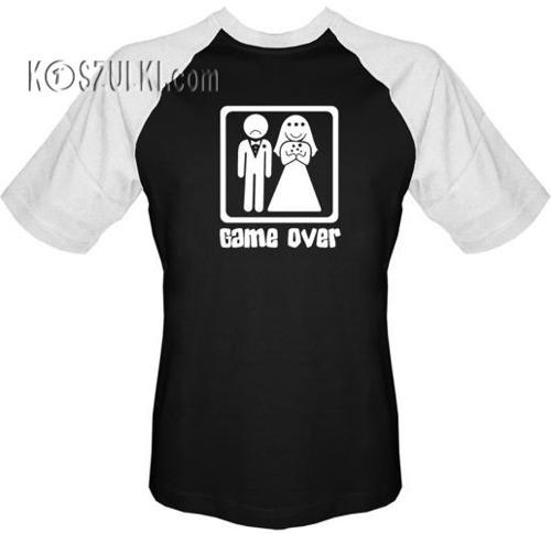 T-shirt Baseball Ślub