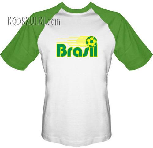 T-shirt Baseball  Brasil