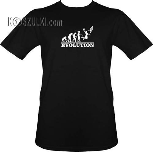 T-shirt Ewolucja Koszykarz