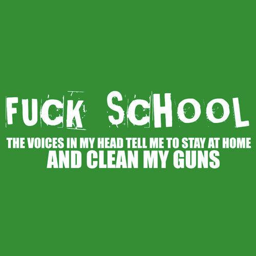 T-shirt FIT Fuck School