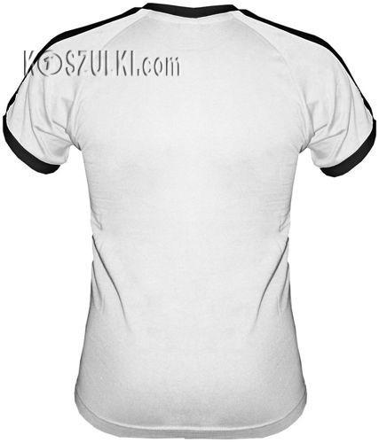 T-shirt FIT Nie jestem 50 latkiem Biały