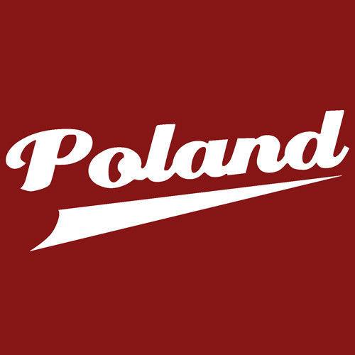 T-shirt Fit Poland Czerwony