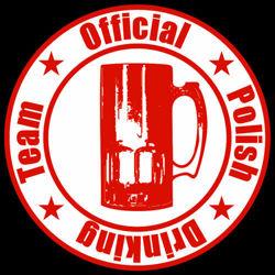 T-shirt Fit Polish Drinking Team