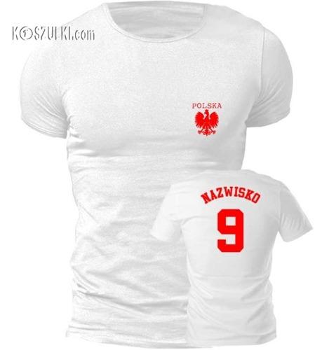 T-shirt Fit Polska + własne nazwisko