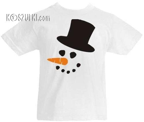T-shirt dziecięcy- Bałwan