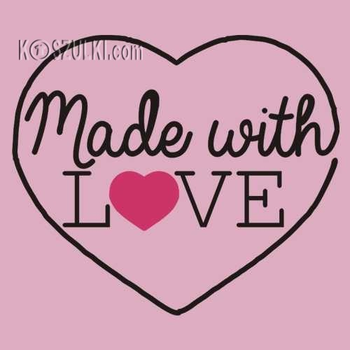 T-shirt dziecięcy Made with love