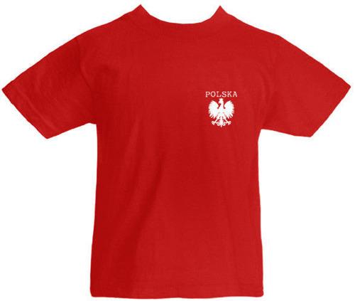 T-shirt dziecięcy- Polska mały Orzeł Czerwony