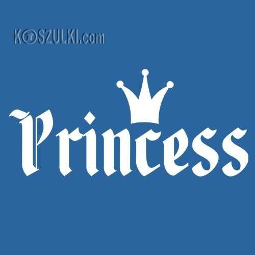 T-shirt dziecięcy Princess