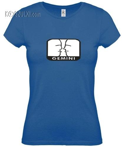 koszulka damska Bliźnięta znak zodiaku