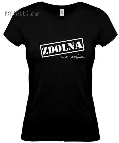 koszulka damska ZDOLNA