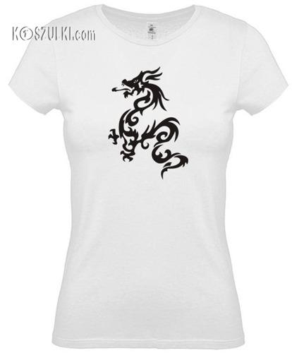 koszulka damska smok