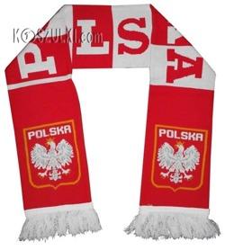 szalik Polska dziany Pasiak II
