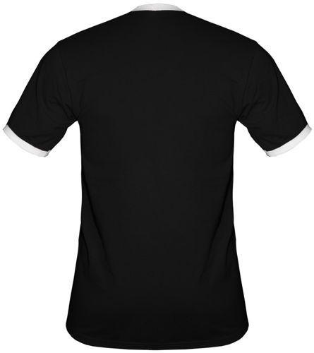 t-shirt 2K009 Polska mały Orzeł Czarny