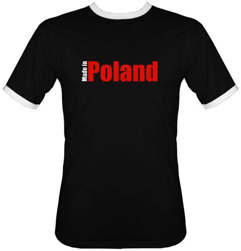 t-shirt 2K115 Made in Poland Czarny