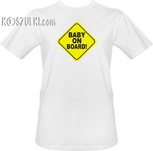 t-shirt Baby on board