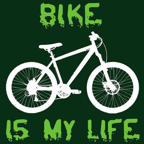 t-shirt Bike is my life