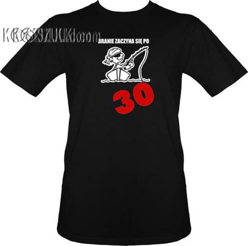 t-shirt Branie Zaczyna się Po 30