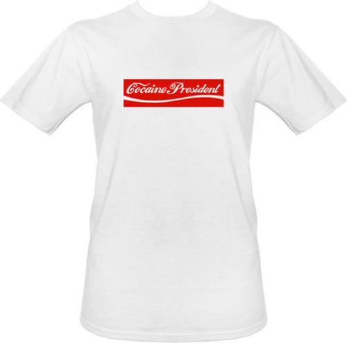 t-shirt Cocaine President
