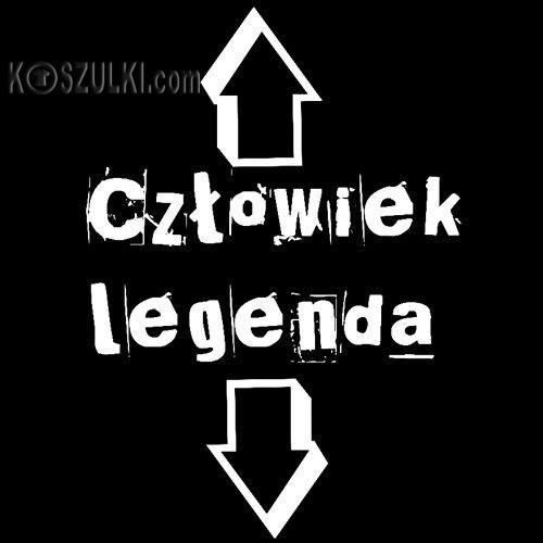 t-shirt Człowiek Legenda
