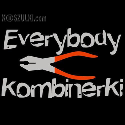 t-shirt Everybody Kombinerki