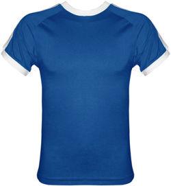 t-shirt Fit  Niebieski