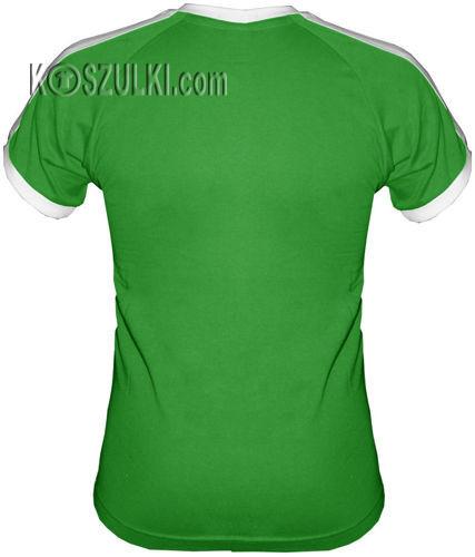 t-shirt Fit dowolny tekst- Zielony