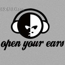 t-shirt Open your ears