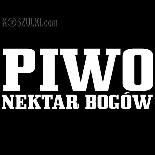 t-shirt Piwo-nektar Bogów