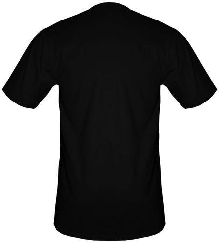 t-shirt SHIT HAPPENS CZARNY