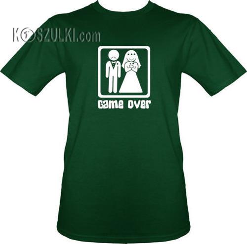 t-shirt Ślub
