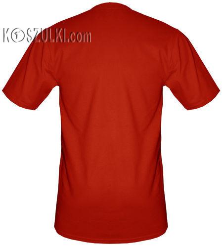 t-shirt T048 Polska Gotyk Czerwony